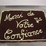 Gâteau choco-Vanille (60 parts)