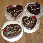 Gâteaux de la St-Valentin